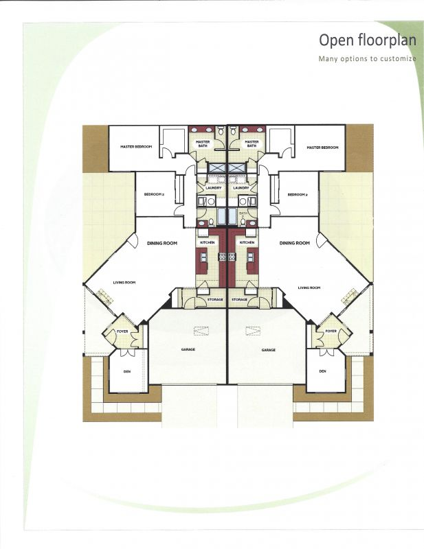 Falls Home floor plan